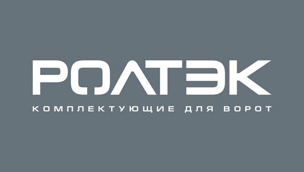 Логотип РОЛТЭК на темном фоне